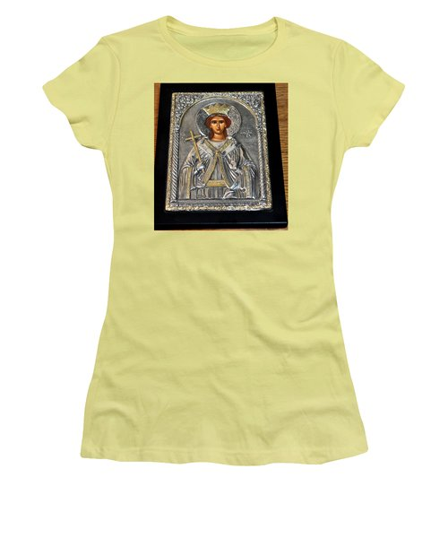 Russian Byzantin Icon Women's T-Shirt (Athletic Fit)
