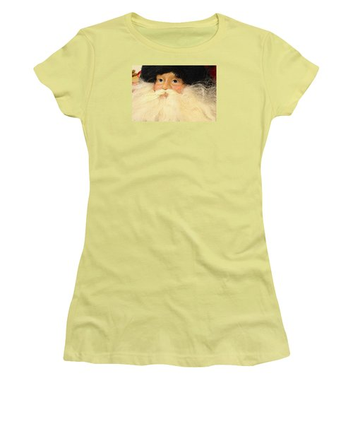 Women's T-Shirt (Junior Cut) featuring the photograph Russian Santa by Nadalyn Larsen