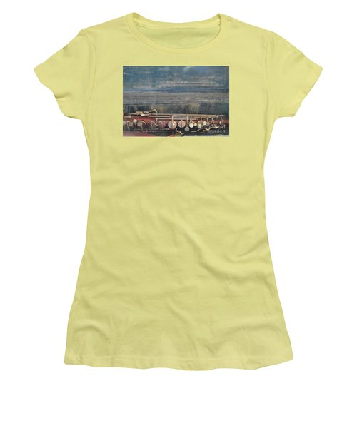 Women's T-Shirt (Junior Cut) featuring the photograph Safe Sax In Vegas by Brian Boyle