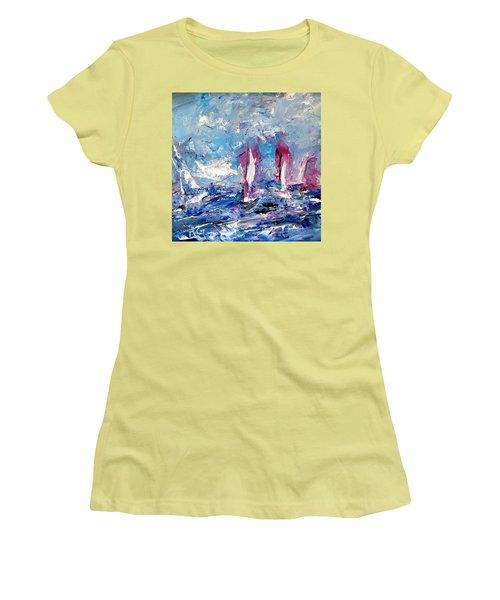 Sailing Magic Women's T-Shirt (Athletic Fit)
