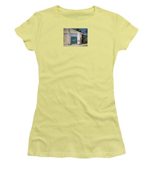 San Clemente Surfboards Women's T-Shirt (Athletic Fit)