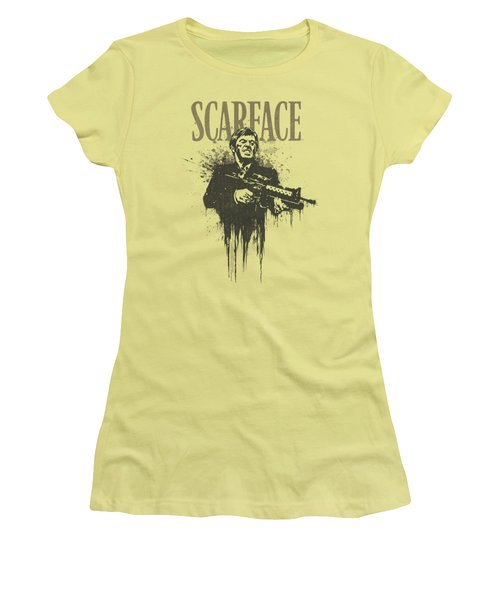 Scarface - Grimace Women's T-Shirt (Athletic Fit)