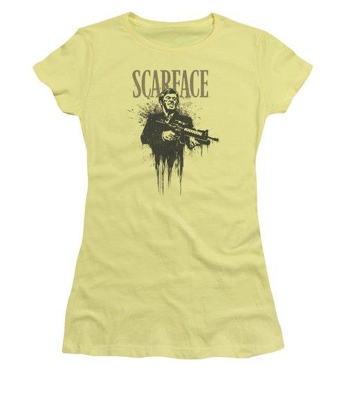 Scarface - Grimace Women's T-Shirt (Junior Cut)