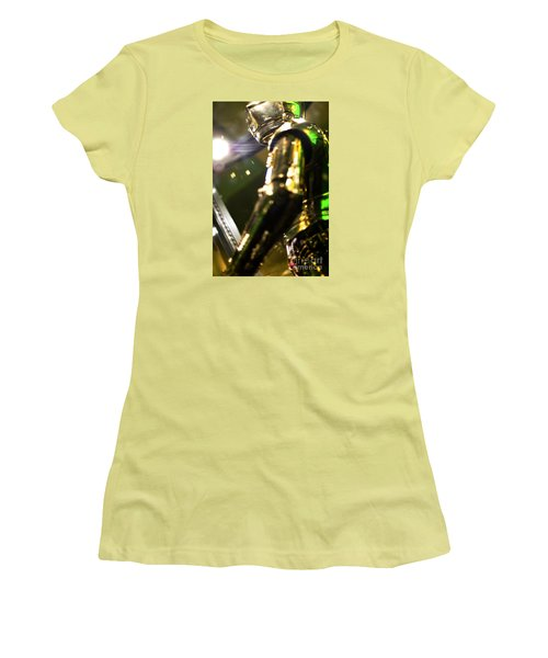 Screen Worn C3p0 Costume Women's T-Shirt (Junior Cut) by Micah May