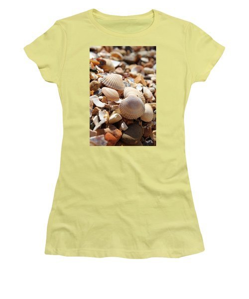 Sea Shells Women's T-Shirt (Athletic Fit)