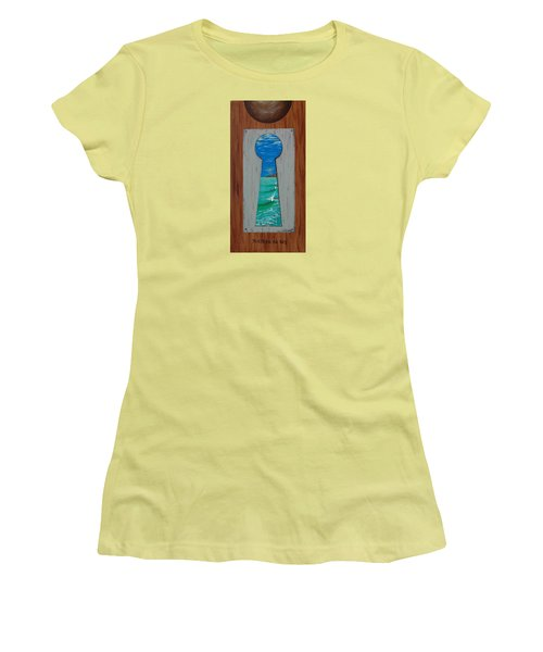 Search For The Key Women's T-Shirt (Athletic Fit)
