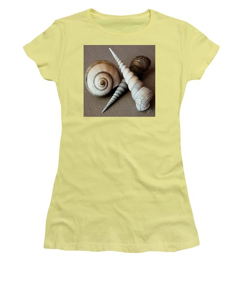 Seashells Spectacular No 24 Women's T-Shirt (Junior Cut) by Ben and Raisa Gertsberg