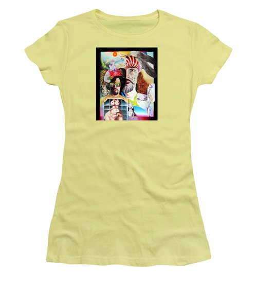 Selfportrait With The Critical Eye Women's T-Shirt (Athletic Fit)