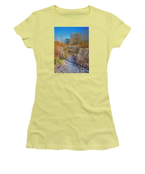 Serenity Trail.... Women's T-Shirt (Junior Cut) by Nina Stavlund
