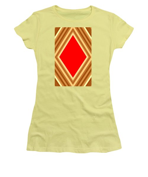 She Said Love Was Red  Women's T-Shirt (Junior Cut) by Cletis Stump