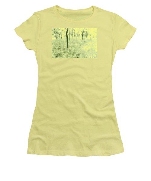 Women's T-Shirt (Junior Cut) featuring the photograph Shimmering Spring Day by John Hansen