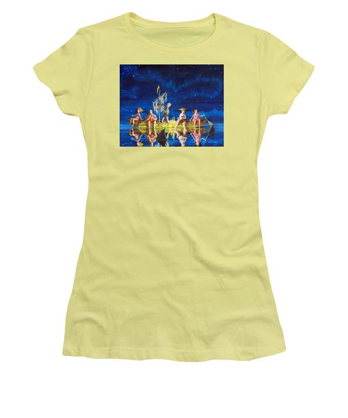Ship Of Fools Women's T-Shirt (Athletic Fit)