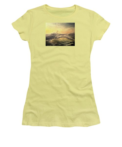Shivering Beauty Of Storm Women's T-Shirt (Junior Cut) by Mikhail Savchenko