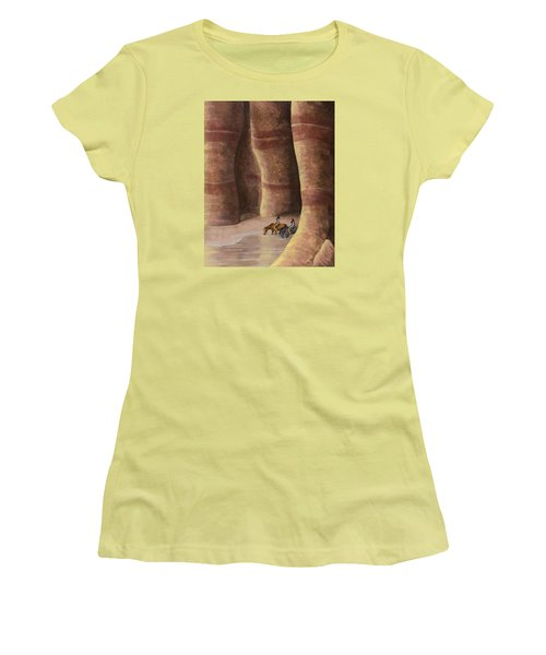 Signs Of The Past Women's T-Shirt (Junior Cut) by Jack Malloch