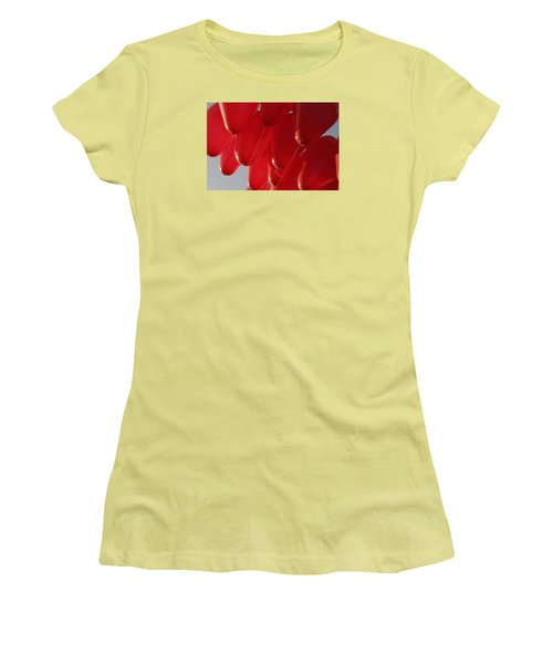 Women's T-Shirt (Junior Cut) featuring the photograph Skc 0029 Unity In Flying by Sunil Kapadia