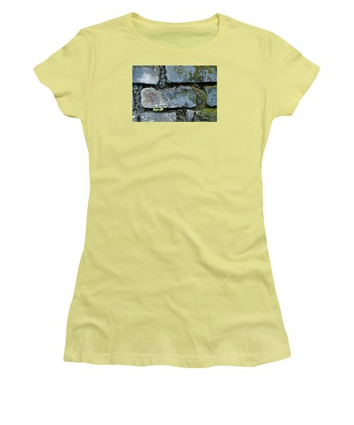 Women's T-Shirt (Junior Cut) featuring the photograph Skc 0301 Tiny Twin Leaves by Sunil Kapadia