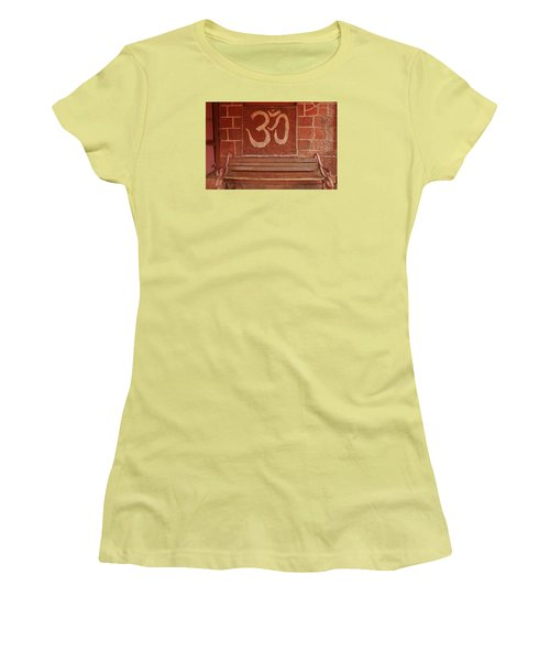 Women's T-Shirt (Junior Cut) featuring the photograph Skc 0316 Welcome The Gods by Sunil Kapadia
