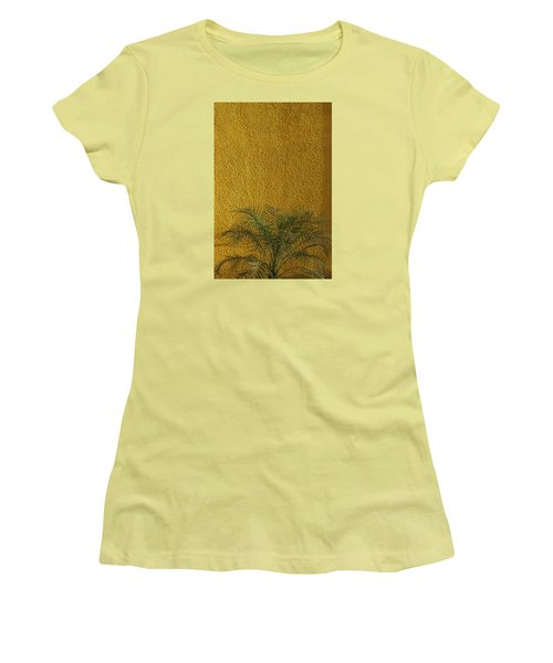 Women's T-Shirt (Junior Cut) featuring the photograph Skc 1243 Colour And Texture by Sunil Kapadia