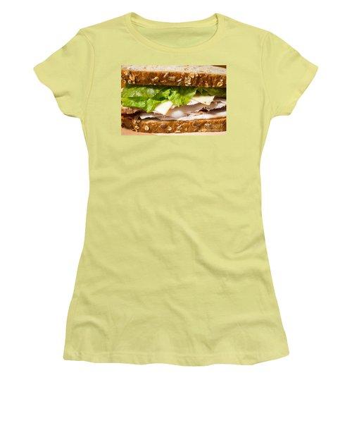 Smoked Turkey Sandwich Women's T-Shirt (Athletic Fit)