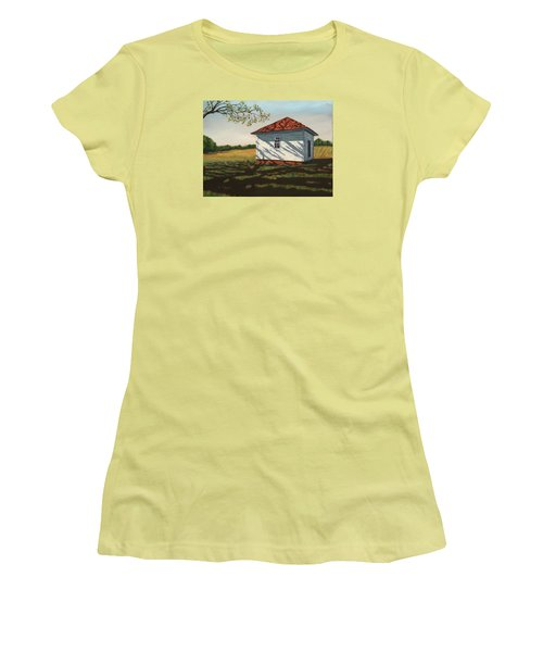 Smokehouse Women's T-Shirt (Athletic Fit)