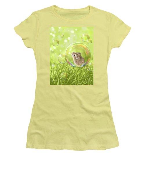 Soap Bubble Women's T-Shirt (Athletic Fit)