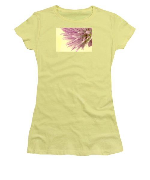 Soft And To The Point Women's T-Shirt (Junior Cut) by Sandra Foster
