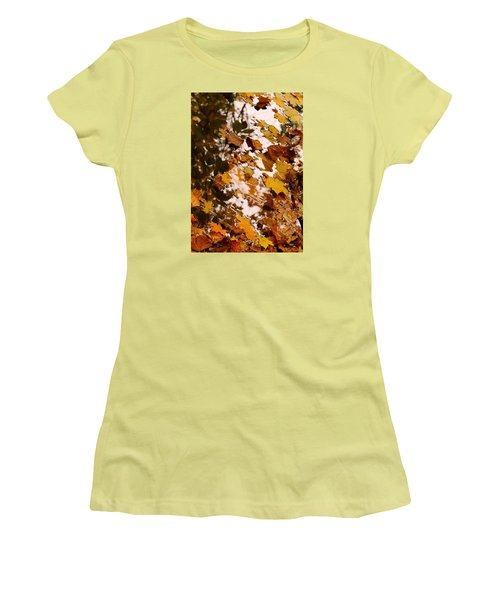Women's T-Shirt (Junior Cut) featuring the photograph Soft Landing by Photographic Arts And Design Studio