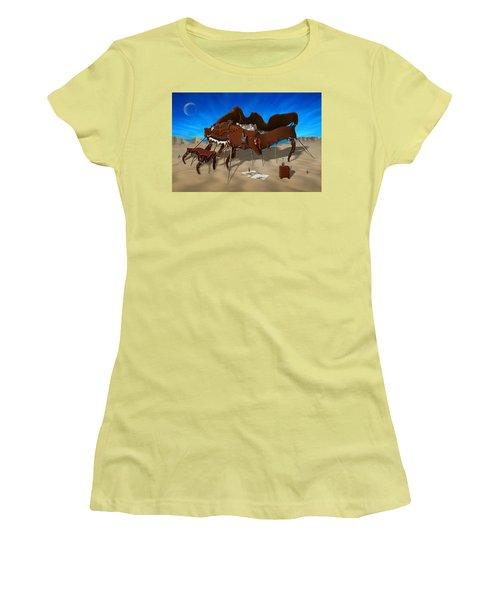 Softe Grand Piano Se Women's T-Shirt (Junior Cut) by Mike McGlothlen