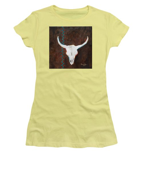 Southwestern Influence Women's T-Shirt (Junior Cut) by Judith Rhue