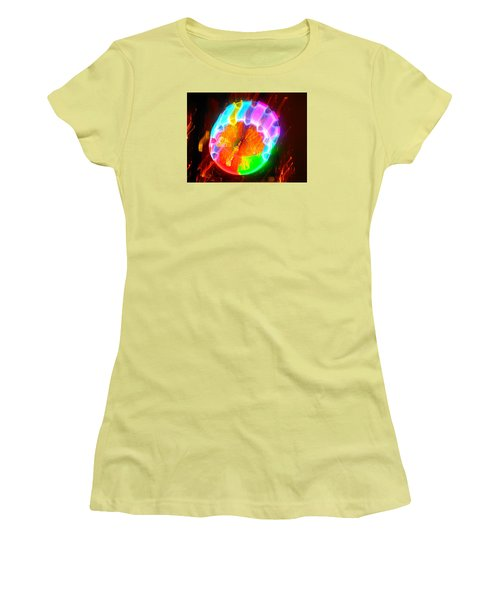 Spinning Orb In The Cosmos Women's T-Shirt (Athletic Fit)
