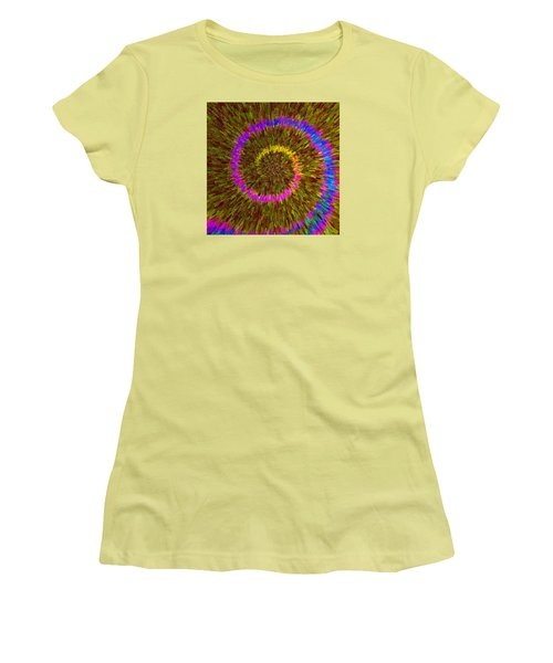 Spiral Rainbow IIi C2014 Women's T-Shirt (Junior Cut) by Paul Ashby