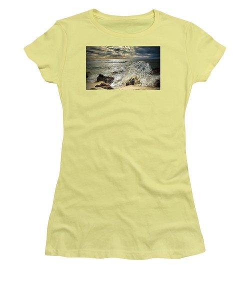 Splash N Sunrays Women's T-Shirt (Junior Cut) by Kym Clarke