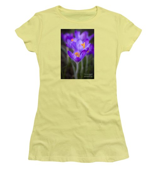 Spring Has Sprung Women's T-Shirt (Junior Cut) by Clare Bambers