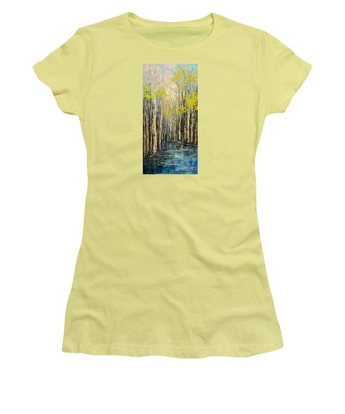 Spring Wind Women's T-Shirt (Athletic Fit)