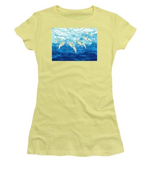 Squid Ballet Women's T-Shirt (Athletic Fit)