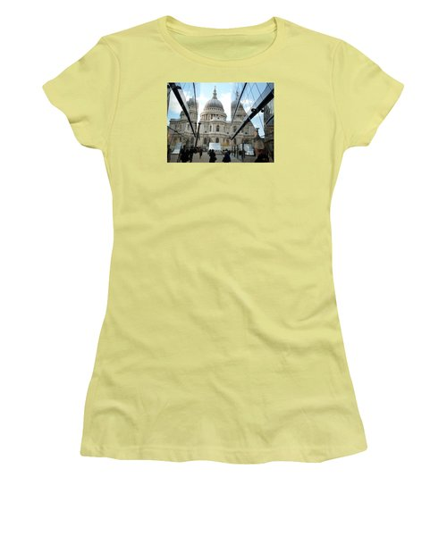 St Paul's Reflected Women's T-Shirt (Athletic Fit)