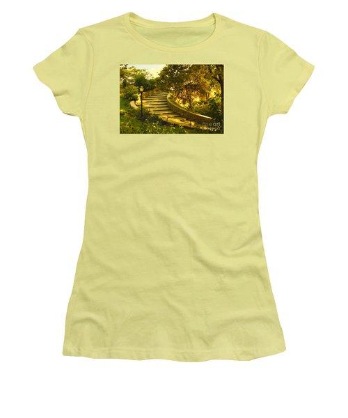 Stairway To Nirvana Women's T-Shirt (Junior Cut) by Madeline Ellis