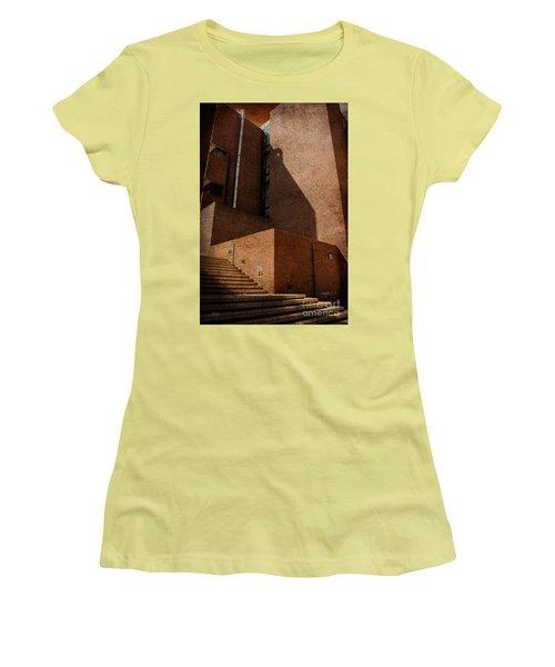 Stairway To Nowhere Women's T-Shirt (Junior Cut) by Lois Bryan