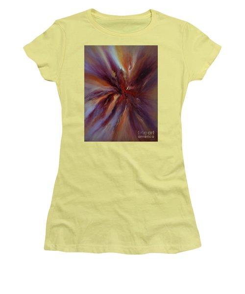 Starburst Women's T-Shirt (Junior Cut) by Valerie Travers
