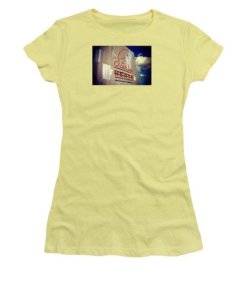Starlite  Women's T-Shirt (Junior Cut) by Trish Mistric