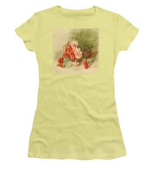 Still Life Of Flowers Women's T-Shirt (Athletic Fit)