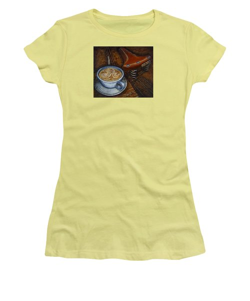 Still Life With Ladies Bike Women's T-Shirt (Athletic Fit)