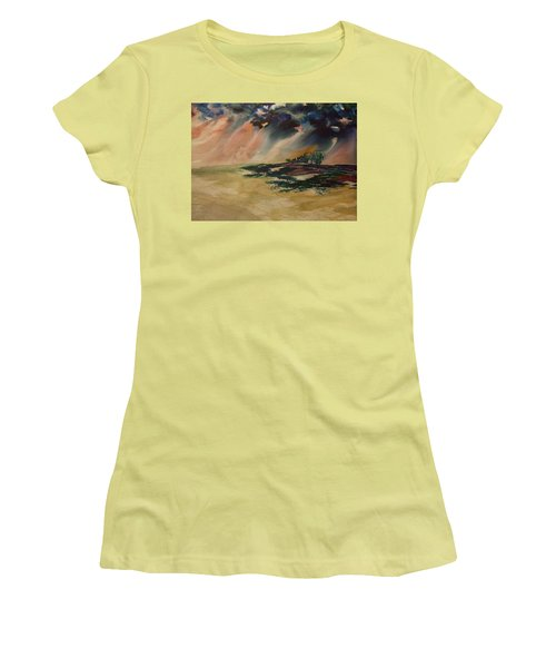 Storm In The Heartland Women's T-Shirt (Athletic Fit)