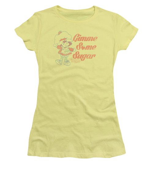 Strawberry Shortcake - Gimme Some Sugar Women's T-Shirt (Junior Cut) by Brand A