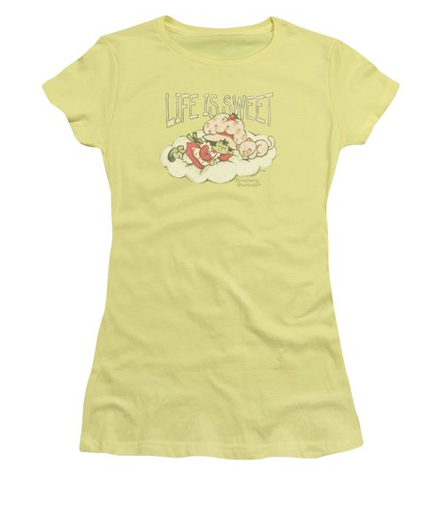 Strawbery Shortcake - Sweet Dreams Women's T-Shirt (Junior Cut) by Brand A