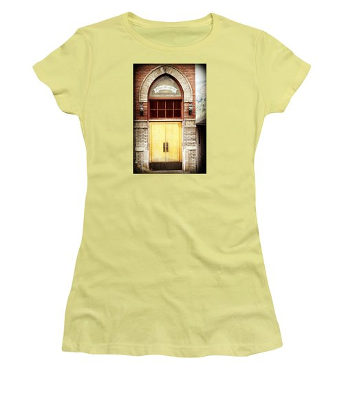 Street View Women's T-Shirt (Junior Cut) by Melanie Lankford Photography