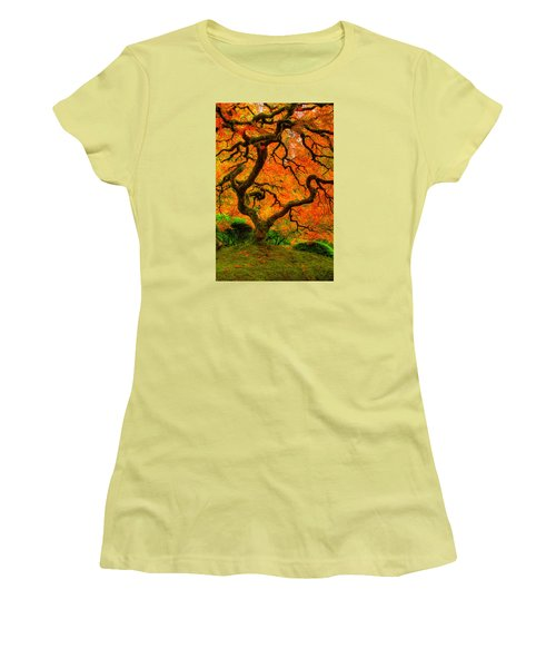 Structured Beauty Women's T-Shirt (Junior Cut) by Dustin  LeFevre