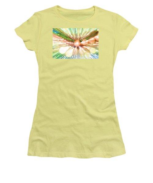 Women's T-Shirt (Junior Cut) featuring the photograph Suicide Blonde by Dazzle Zazz