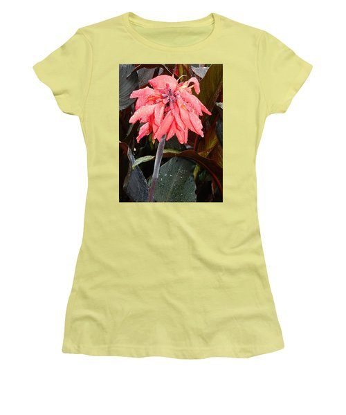 Women's T-Shirt (Junior Cut) featuring the photograph Summer Rain In Maryland by Emmy Marie Vickers