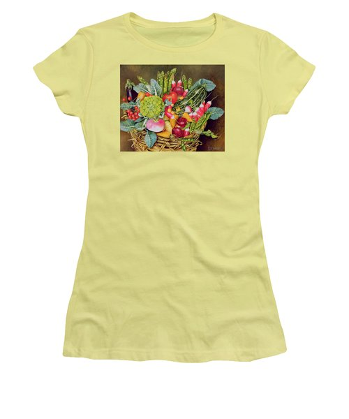 Summer Vegetables Women's T-Shirt (Athletic Fit)